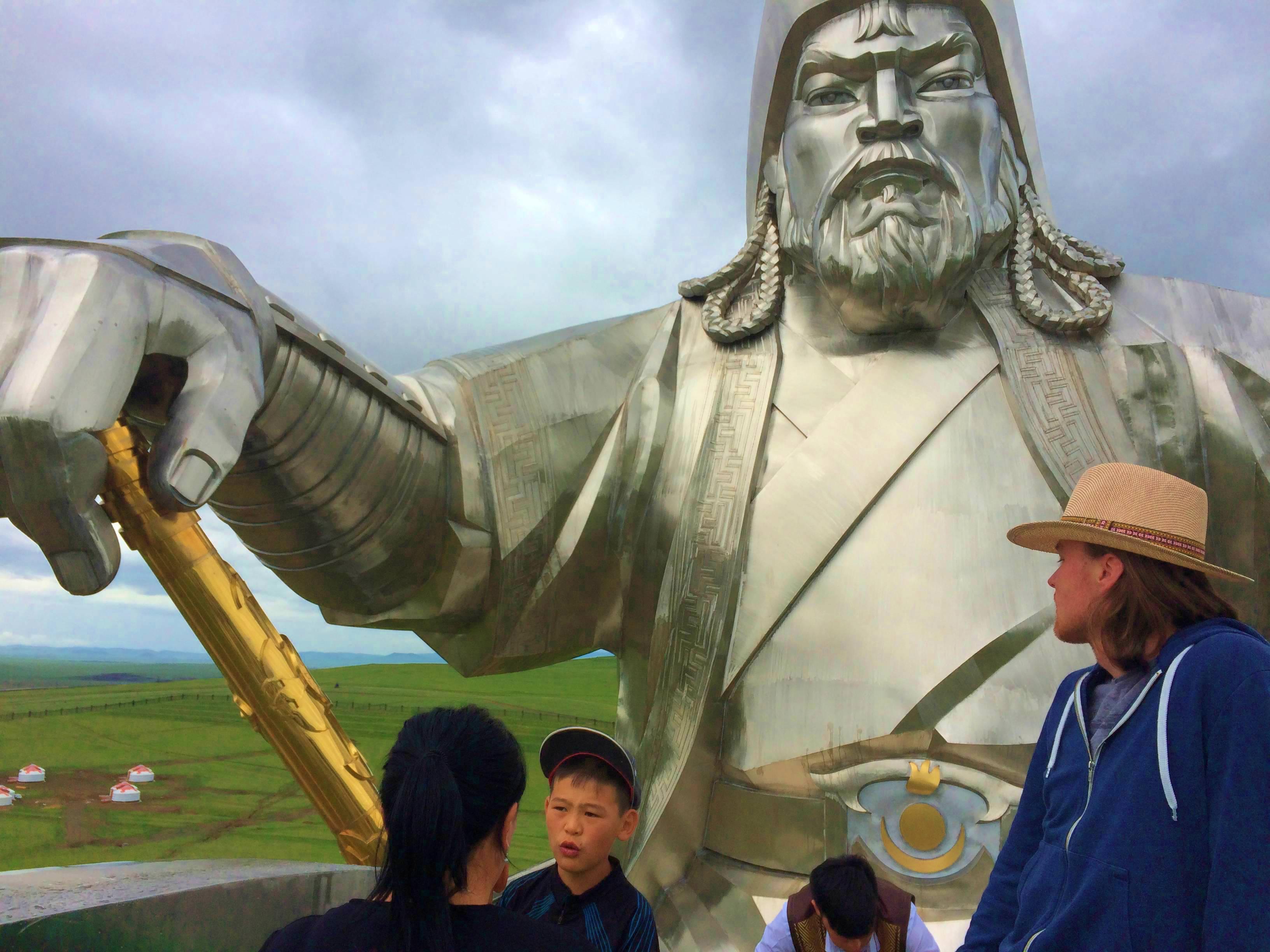 Reiterstandbild des Dschingis Khan, Mongolei Reise