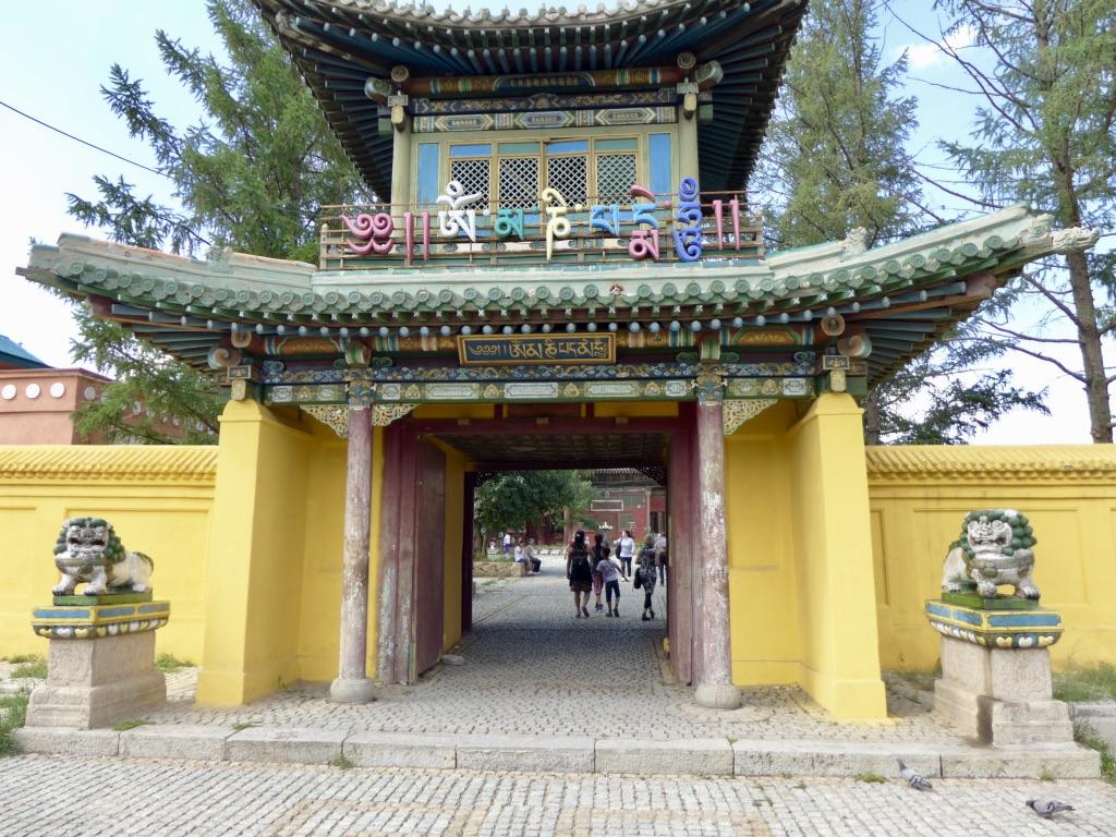 Das Gandan-Kloster, Mongolei Reise, Meine Mongolei