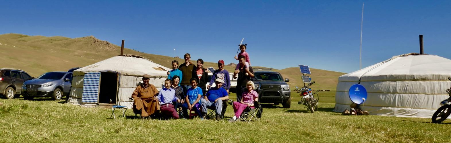 Mongolei-Reise bei den Nomaden