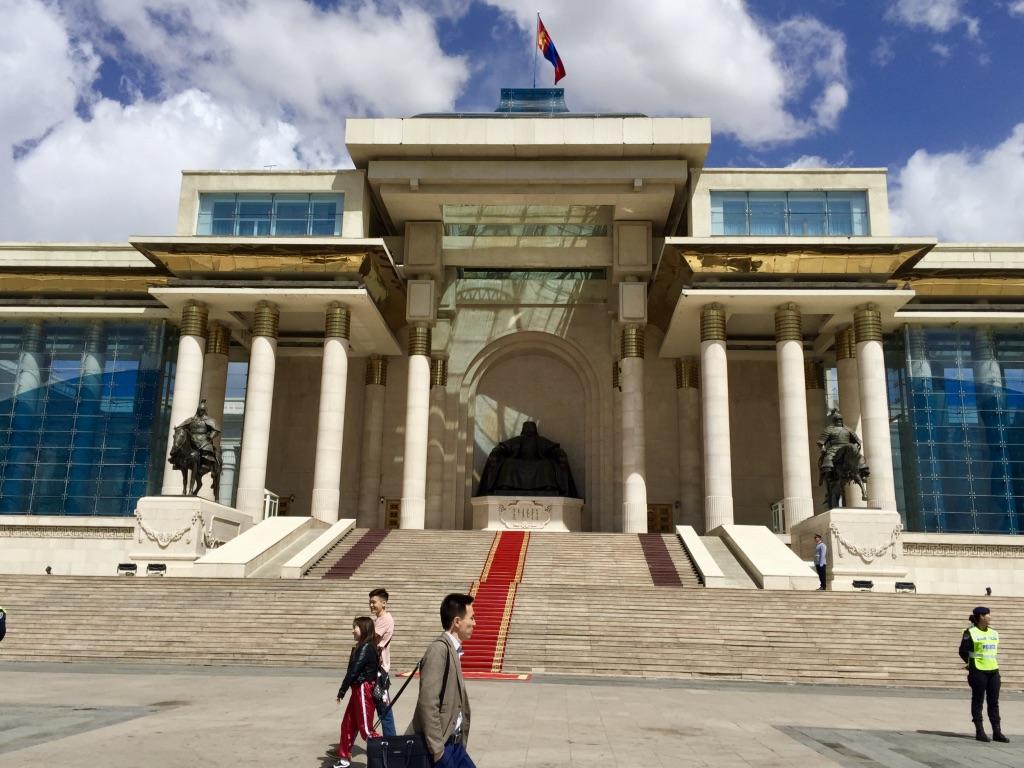 Parlamentsgebäude, Mongolei Reisen, Meine Mongolei