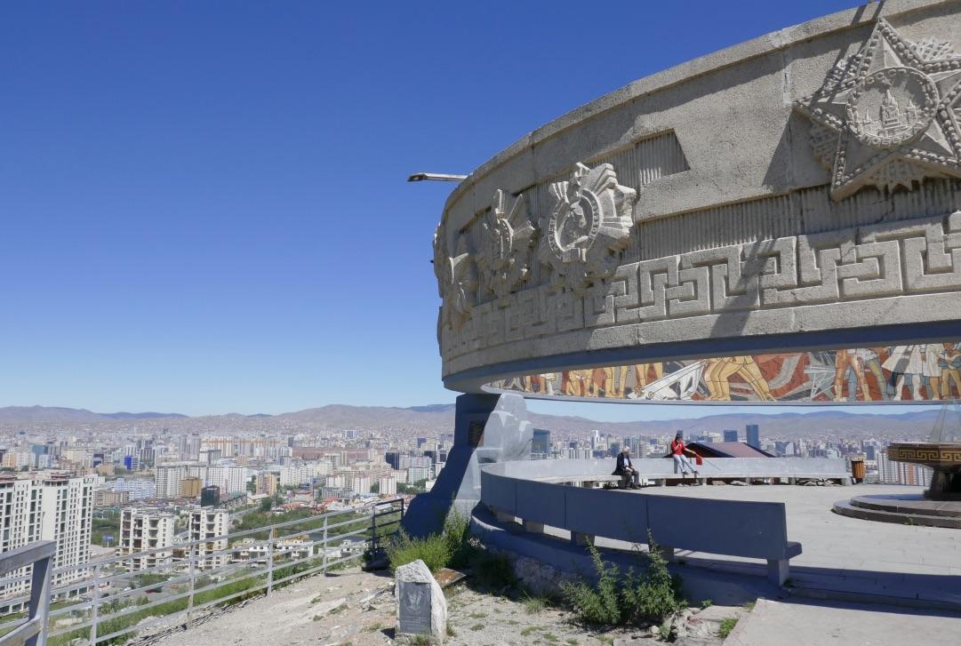 Dsaisan-Gedenkstätte, Mongolei Reisen, Meine Mongolei